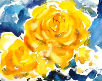 Fresh Pick No.193, limited edition of 50 fine art giclee prints from my original watercolor