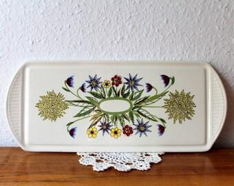 Vintage plates / plate flowers Germany