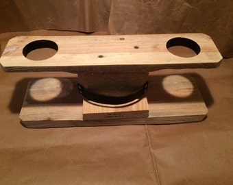 V60 Drip Stand (Reclaimed coffee shipping pallets) 2 Cup