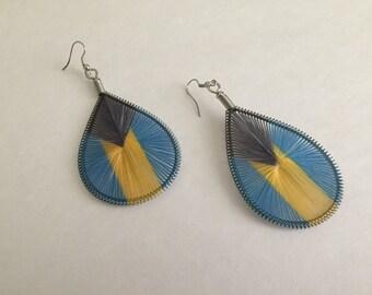 Bahamas Thread Earrings