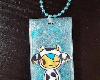 Resin necklace, Tokidoki, Fairy Kei, Pastel Goth, Necklace