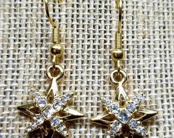 Sparkling Starburst Earrings