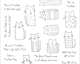 Simply Sweet Stamps - Purrfect Digi Stamp Bundle