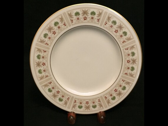 """FREE SHIPPING-Fabulous-Lenox-Tableau-Made USA-6 3/8""""-Bread And Butter Plate"""