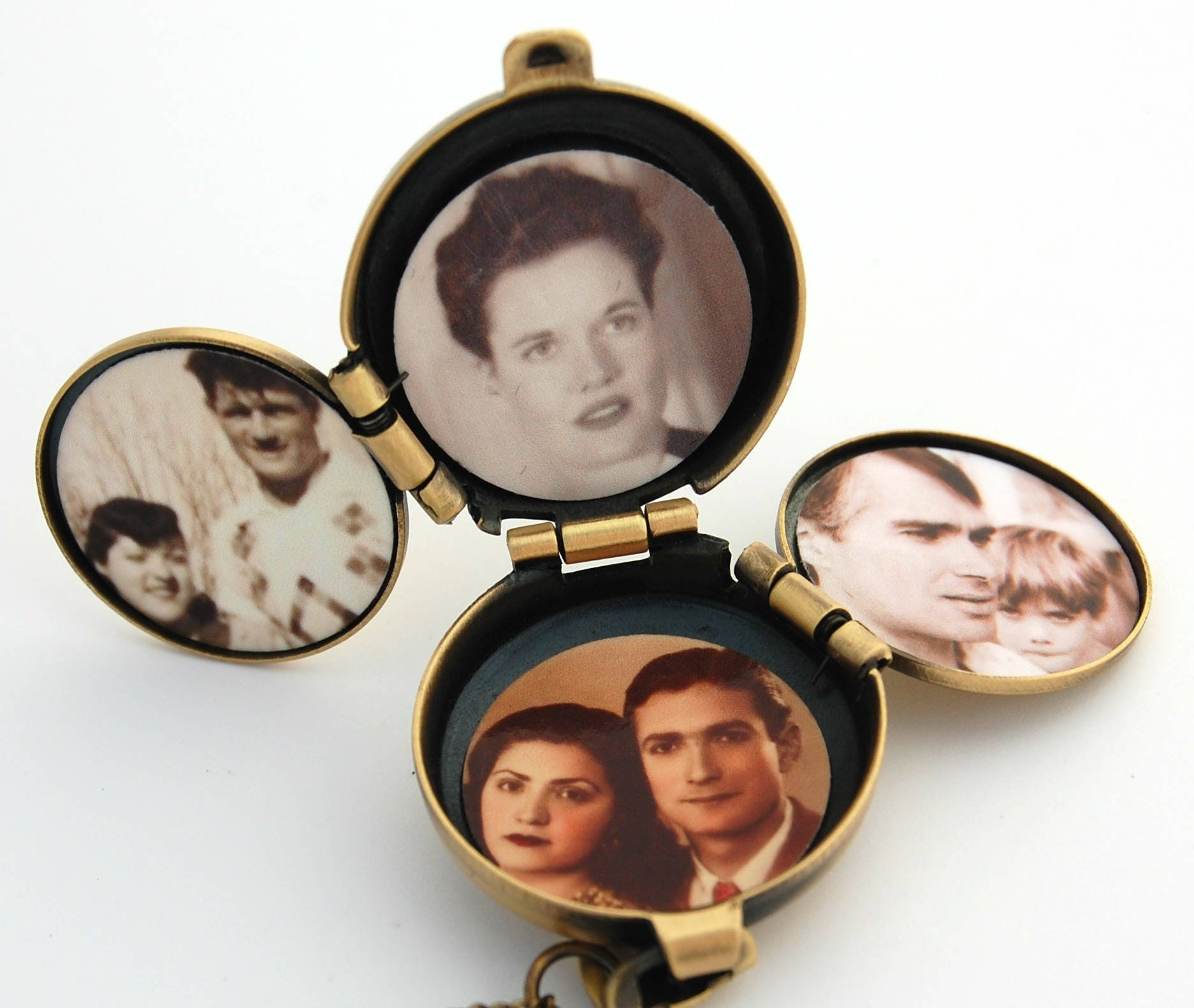 listing incredible il way four locket fullxfull family album zoom lockets male necklace