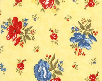Anns Arbor Buttercup 14841 16 - Moda Fabrics 100% Cotton Quilting Fabric by Minick and Simpson
