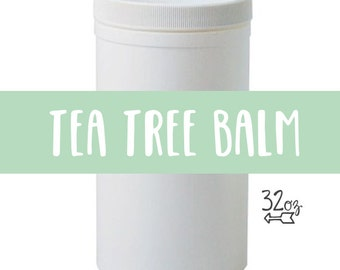 Tea Tree Eczema and Infection Balm - 32 oz container /// <<<