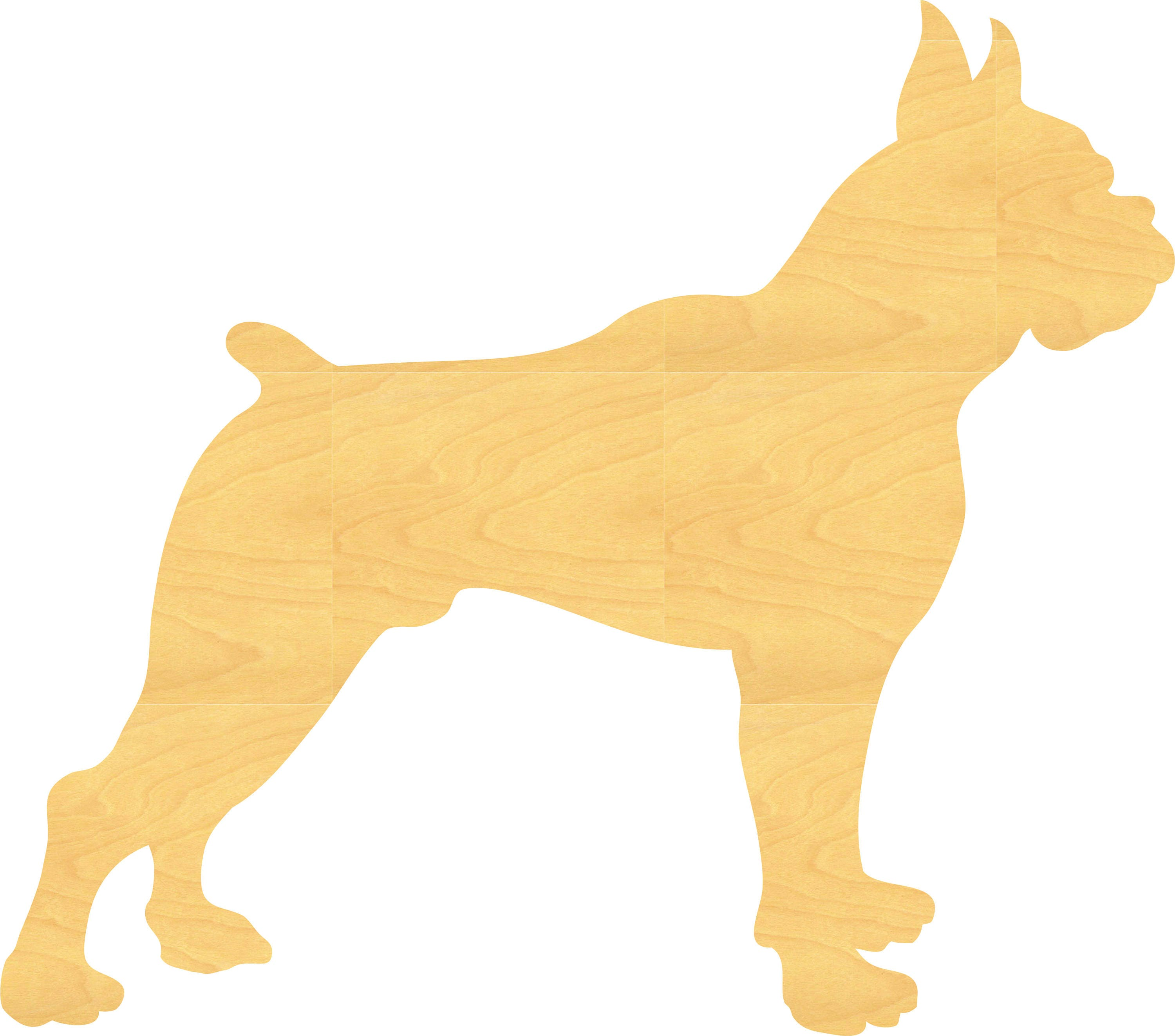 Boxer Dog Wood Cutout Small Sizes Up 12 Inches - Wall Decor Projects ...