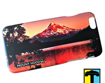 Mount Hood iPhone Case - Michael Skourtes Series