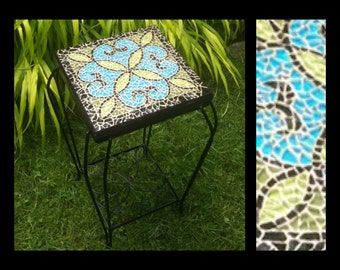 Belle Epoque - Glass Mosaic Table