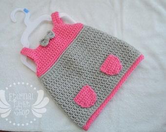 ANY COLORS Pocket Dress Newborn-12M