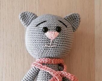 Crochet cat-Kitty!