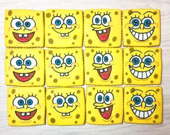 SpongeBob SquarePants Sugar Cookies