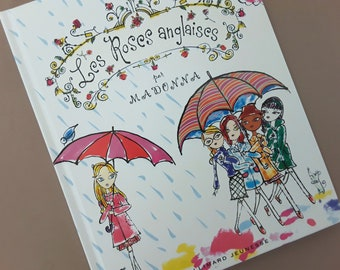 Mint condition Madonna Les Roses Anglaises The English Roses  children's book French translation  first edition