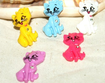 Cabochon cat X 25 mm in size 5!