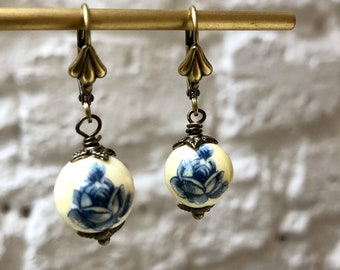 Japanese Bead Earrings