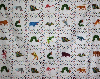 Polar Bear Kids Panel Print Pure Cotton Fabric--One Panel