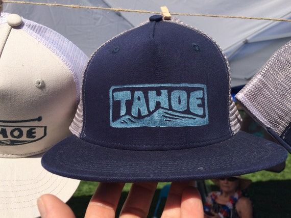 TAHOE stamped trucker hat