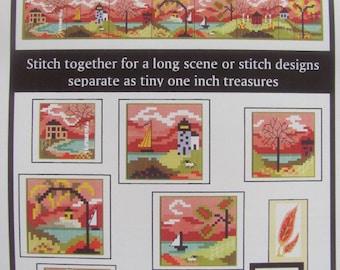 Stitch An Inch Fall Counted Cross Stitch Chart
