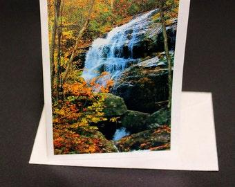 Crabtree Falls VA Pack of 5 greeting cards