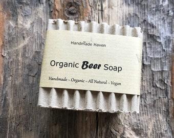Organic Soap - Beer Soap - Vegan - Men - Beer