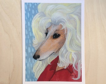 Doggie Parton - Unframed 5.5x7.5 Limited Edition Giclee Print