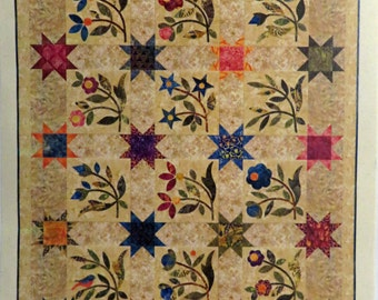 Spring Sprouts Quilt Pattern - Edyta Sitar - Laundry Basket Quilts - LBQ-0325-P