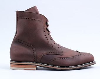 Charles Boot (Oiled Tan)