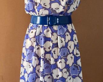 Vintage floral dress 1980