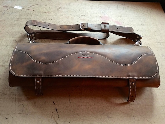 Leather Knife Roll, Profesional Knives Roll, Leather Knives Roll, Luxury Chef Knife Roll
