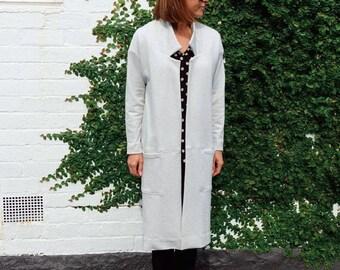 Style Arc Sewing Pattern - Parker Coat - Sizes 8, 10, 12 - Women's Long line Coat - PDF Sewing Pattern