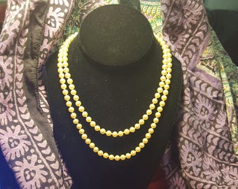 String Of Faux Pearls