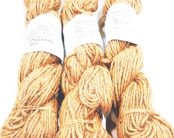 AAYU's High Quality Bundle Jute Rope 5 Ply | Heavy Natural Burlap Jute Fiber Twine Rope | About 500 Grams (17.6 Ounces) | Natural Product