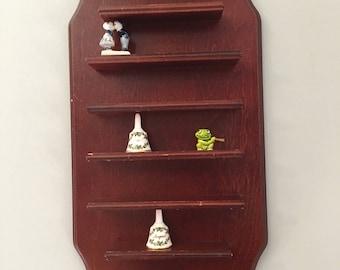 Vintage Wall Shelf ~ Thimble Shelf ~ Curio Shelf ~ Shabby Chic ~ What not Shelf ~ Knick Knack Shelf