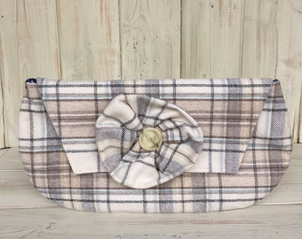 Clutch Bag,Tartan Clutch Bag,Handmade Bag,Handmade Clutch, Clutch,Wedding Clutch Bag,Evening Bag,Evening Clutch Bag,Fully Lined