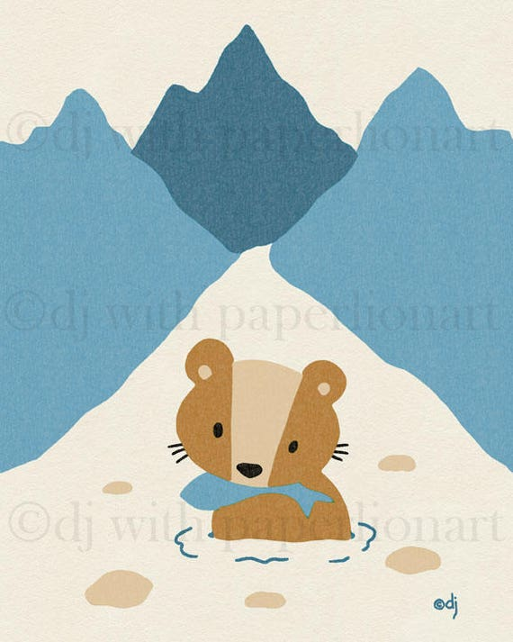 Bear River Print 8x10  **FREE SHIPPING**
