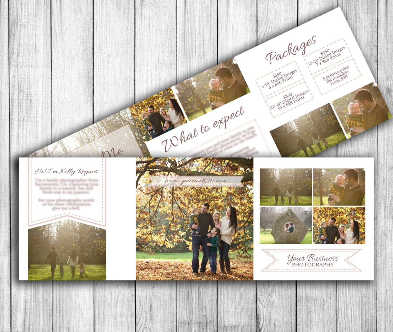 Fotografía de otoño marketing, folleto de flyer - plantilla de ...