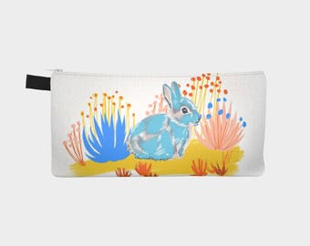 Year of the Rabbit Pencil Case