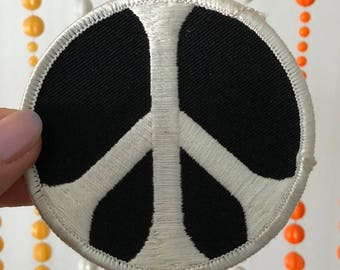 Vintage 1970's Peace Sign Patch