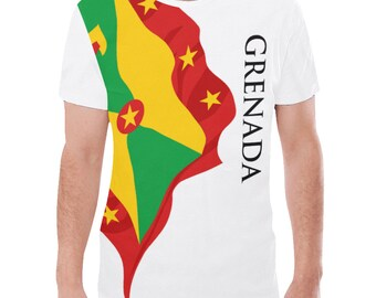 Grenada Men's Classic Flag Tee