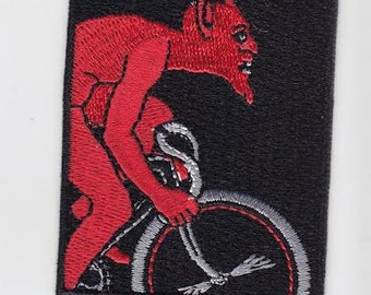 Fedia Red Devil - Cycling patch