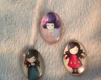 Magnet triplets