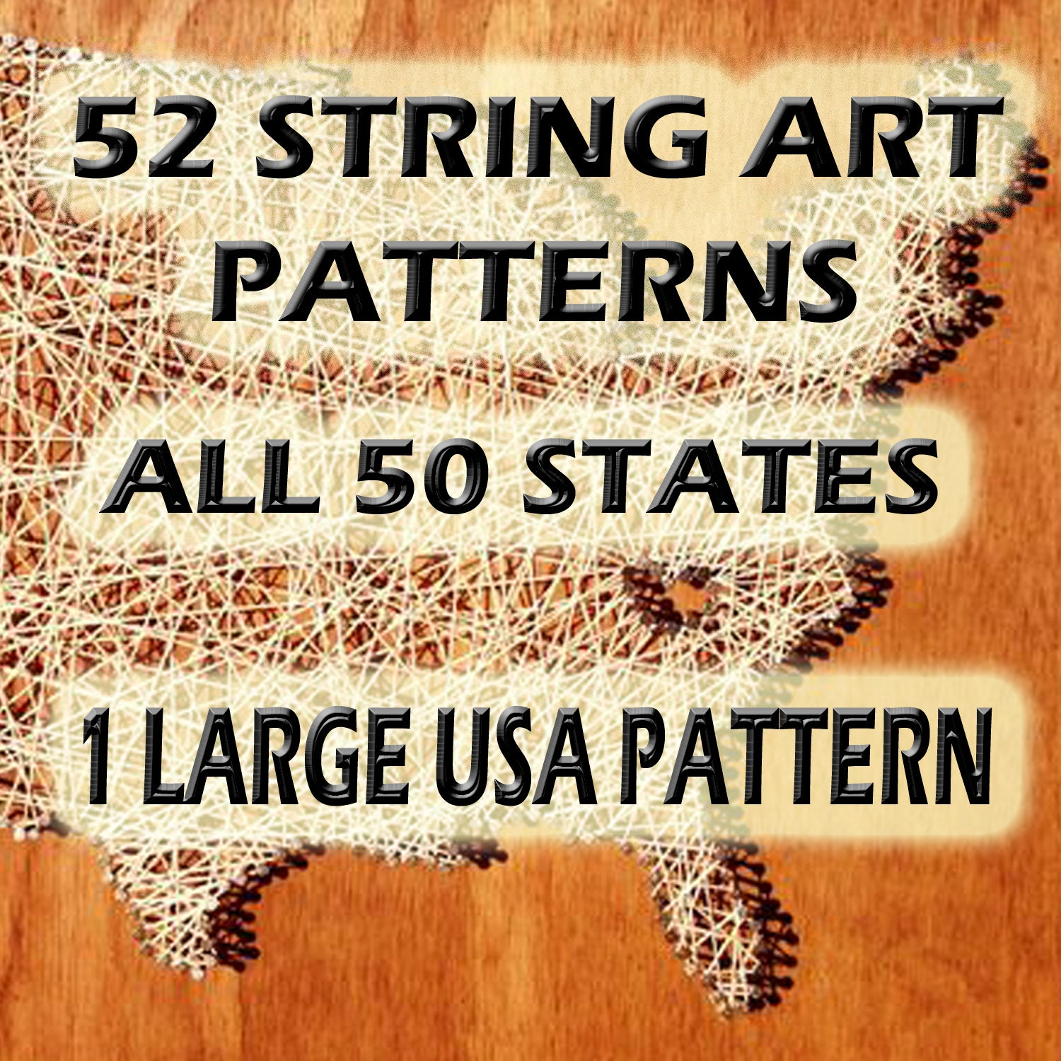 String art patterns all 50 states and usa string art zoom freerunsca Images