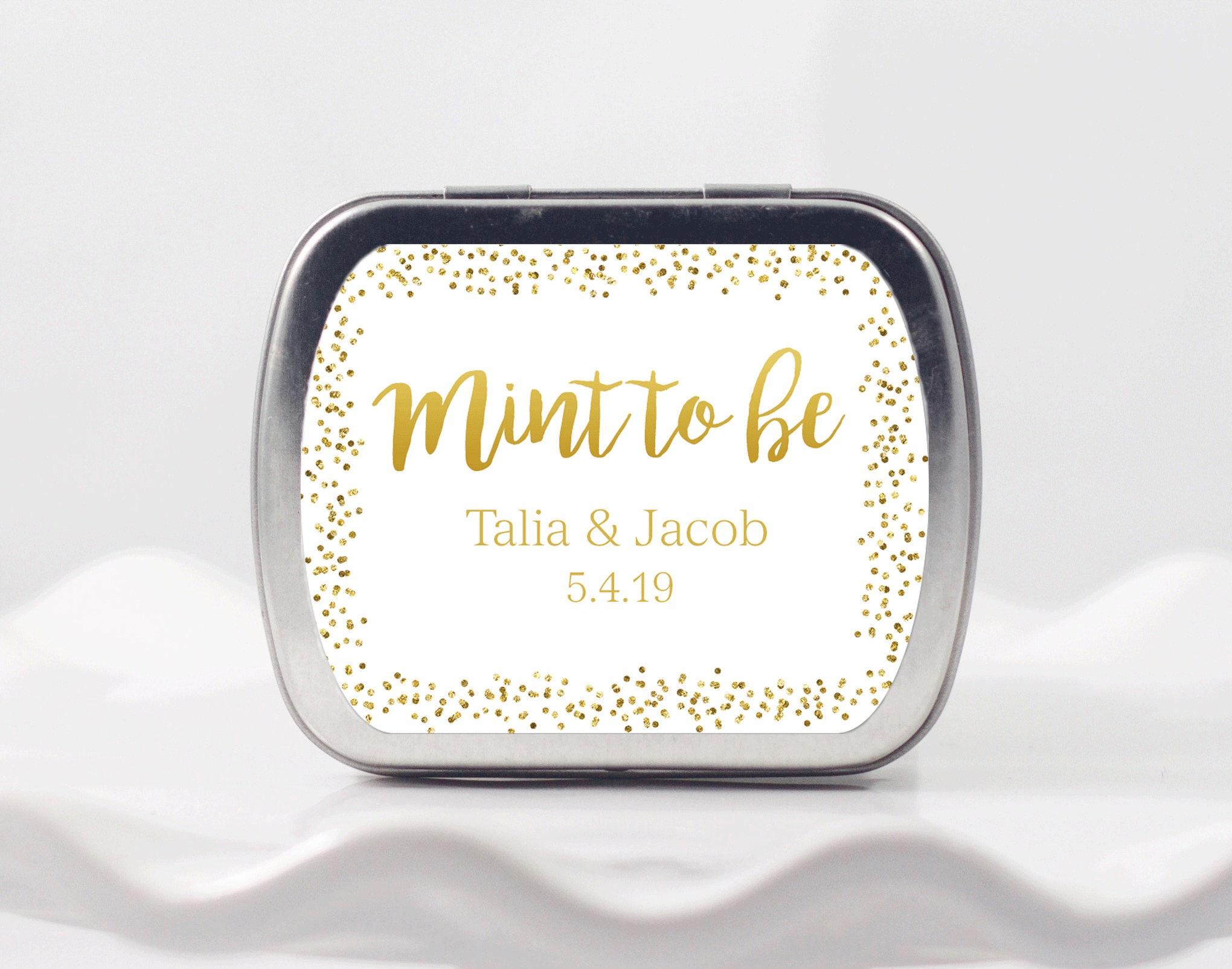 Amazing Mint Tins Wedding Favors Component - The Wedding Ideas ...