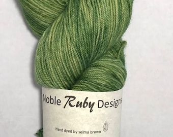 Hand dyed sock yarn - MCN - Trailing Ivy