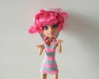 Monster Doll Dress - Hoodie Dress