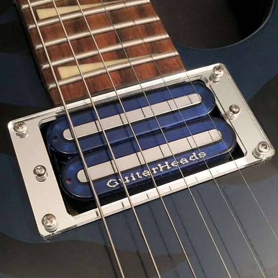 Gitarre Teil Abholung RING Montage Trim flache Lünette
