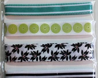 SEI ribbon - Scrapbook Embellishments - Scrapbook Supplies - Black Orchid Collection - Ribbon