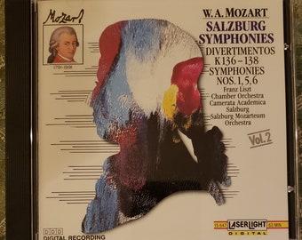 "W. A. Mozart ""Salzburg Symphonies"""