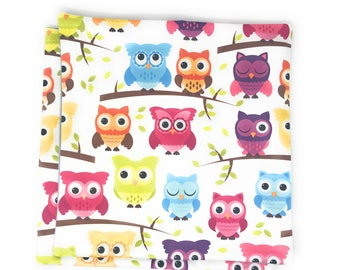 Decorative Cute Owls Cushion Covers - Set of Two Cushion Cover